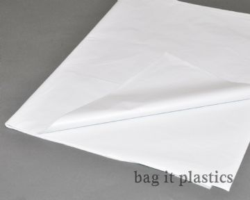 "TISSUE PAPER  SHEETS WHITE ACID FREE WRAPPING 18"" x 28"" / 450mm x 700mm"